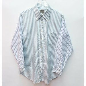 Furst of a Kind Oversized Stripe Button Down Shirt